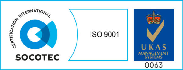 Socotec ISO 9001 Certification